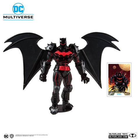Image of (Mc Farlane) (Pre-Order) DC Armored Wave 1 Batman Hellbat Suit 7-Inch Action Figure - Deposit