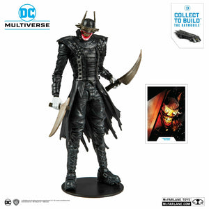 (Mc Farlane) DC Collector Wave 1 Batman Who Laughs 7-Inch Action Figure (Build-A-Batmobile)