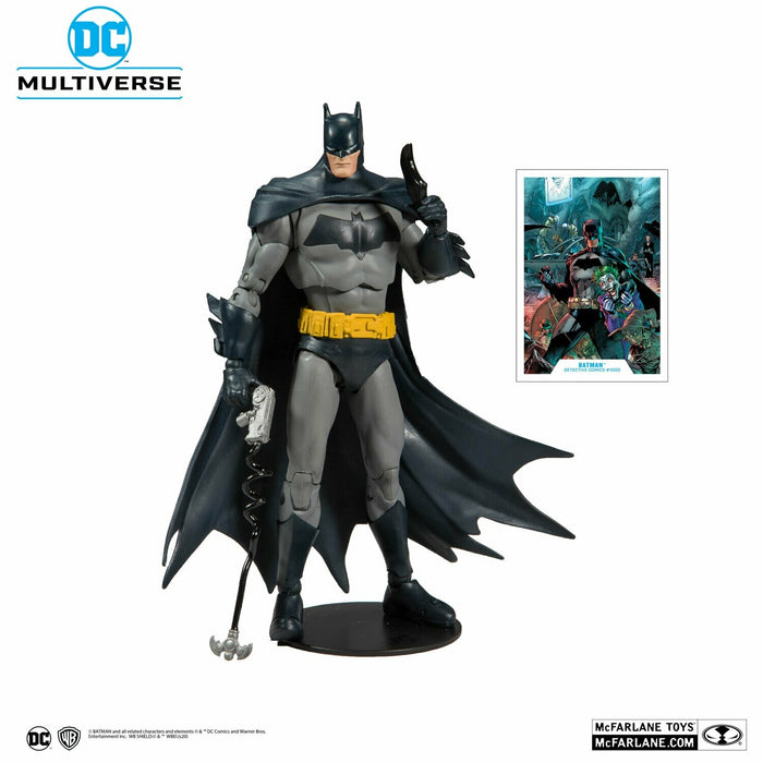 (Mc Farlane) DC Batman Superman Wave 1 Modern Batman 7-Inch Action Figure