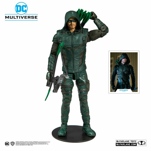 (Mc Farlane) DC Comics Wave 1 Green Arrow TV Series 7-Inch Action Figure