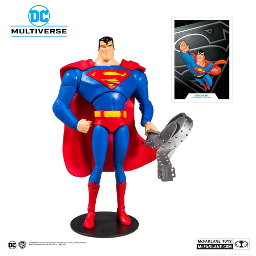 (Mc Farlane) (Pre-Order) DC Animated Wave 1 Superman: The Animated Series 7-Inch Action Figure - Deposit