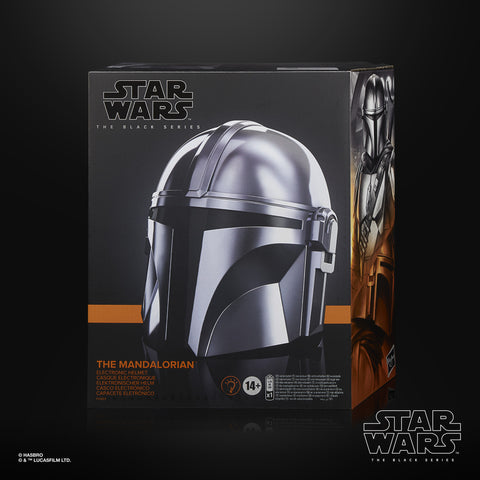 (Habro) (Pre-Order) Star Wars The Black Series The Mandalorian Electronic Helmet - Deposit Only