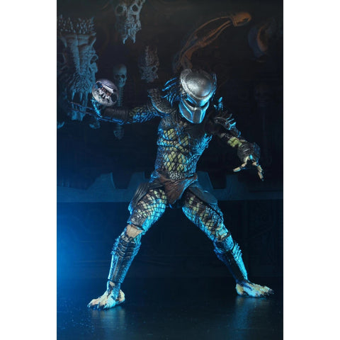 "(Neca) Predator 2 - 7"" Scale Action Figure - Ultimate Scout Predator"