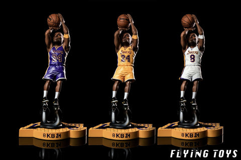 Image of (Flying Toys) (Pre-Order) FT-003 White 1/9 Kobe Figure Statue - Deposit Only