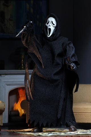 "(Neca) (Pre-Order) Ghostface – 8"" Clothed Action Figure – Ghostface (Updated) - Deposit Only"