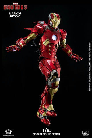 (King Arts) (Pre-Order) Iron Man Mark 11  - 1/9 Scale Diecast Figure DFS045 - Deposit Only