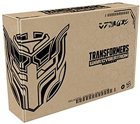 Image of (Hasbro) Transformers Generations War for Cybertron GALACTIC BARRICADE & COUNTER