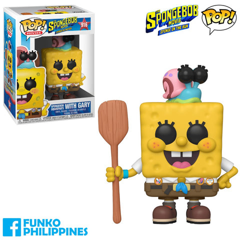 Funko Pop Pop Animation SpongeBob Squarepants with Gary with Free Protector