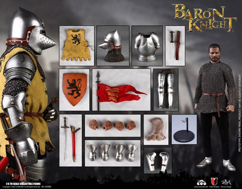 Image of (COOMODEL) (Pre-Order) SE066 1/6 SERIES OF EMPIRES (DIE-CAST ALLOY) - BARON KNIGHT - Deposit Only