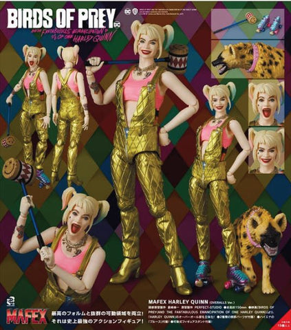(Mafex) (Pre-Order) JPY 8800 Mafex Harley Quinn (Overalls Ver.) - Deposit Only