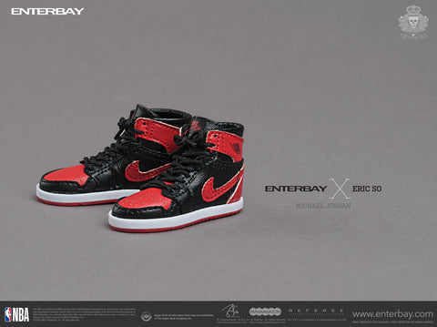 Image of Enterbay X Eric So Michael Jordan (Home) (Limited 1000 Pcs Only) 1/6 Scale Action Figure