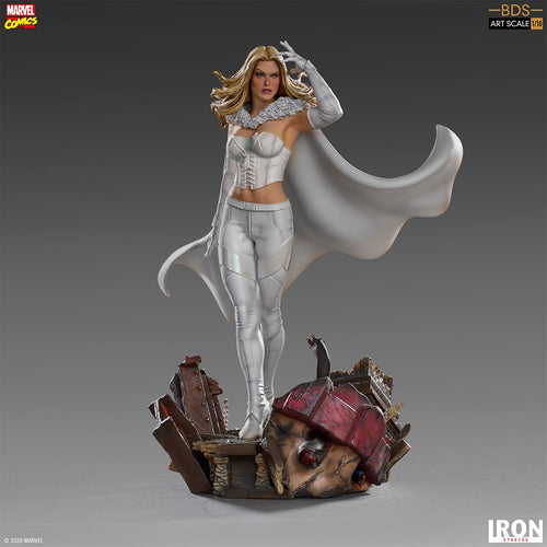 (Iron Studios) (Pre-Order) Emma Frost BDS Art Scale 1/10 - Marvel Comics - Deposit Only