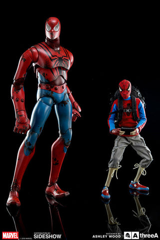 Image of (3A/ZERO) PETER PARKER SPIDERMAN 1/6 SCALE FIGURE - DEPOSIT ONLY