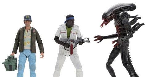 "(Neca) Alien – 7"" Scale Action Figure – 40th Anniversary (Set of 3) (Pre-Order) - Deposit Only"