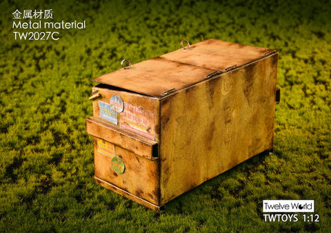 Image of (TWTOYS) (Pre-Order) TW2027 C 1/12 Dumpster - Deposit Only