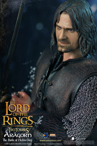 Image of (Asmus Toys) (Pre-Order) LOTR025 1/6    The Lord of the Rings Series: Aragorn at Hemls Deep - Deposit Only