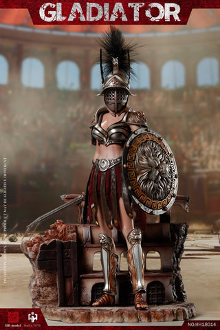 Image of (HHmodel & HaoYuTOYS) (Pre-Order) 1/6 Imperial Legion-Imperial Female Warrior (HH18014 ) Black - Deposit Only