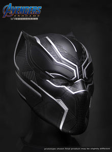 (Avengers) (Pre-Order) 20051 1:1 Black Panther Collectible Helmet   Wearable - Deposit Only
