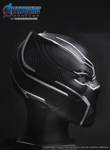 Image of (Avengers) (Pre-Order) 20051 1:1 Black Panther Collectible Helmet   Wearable - Deposit Only