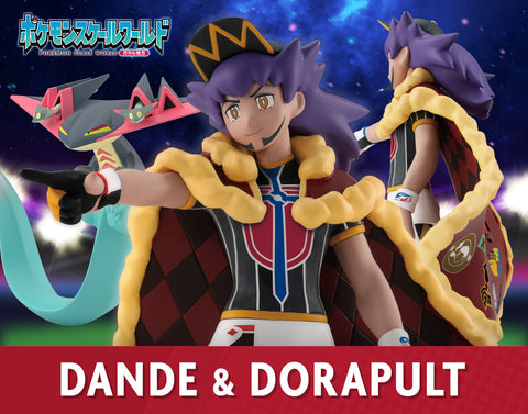 (P-Bandai x Shokugan) (Pre-Order)-POKEMON SCALE WORLD GALAR LEON & DRAGAPULT-Deposit-Only