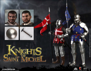 (COOMODEL) (Pre-Order) SE070 1/6 SERIES OF EMPIRES (DIE-CAST ALLOY) - KNIGHTS OF SAINT MICHEL (DOUBLE-FIGURE SET OF FRENCH KNIGHTS) - Deposit Only