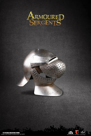 Image of (COOMODEL) (Pre-Order) SE071 1/6 SERIES OF EMPIRES (DIE-CAST ALLOY) - ARMORED SERGENT (REAL CHAIN ARMOR DISPLAY SET) - Deposit Only