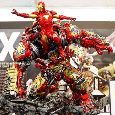 (XM Studios) Hulkbuster 1/4 Scale Premium Statue - Limited Edition (Back in Box/Displayed)