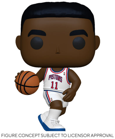 Image of (Funko Pop) Pop! NBA: Legends - Isiah Thomas (Pistons Home) with Free Boss Protector