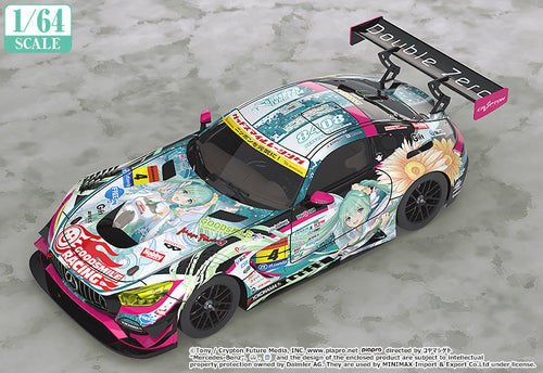 (1/64 Scale Good Smile) Hatsune Miku AMG 2017 SUPER GT Ver. (Pre-Orders) - Deposit Only