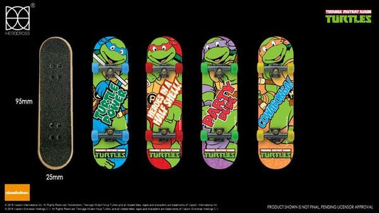 (Herocross) Finger Skateboard TMNT
