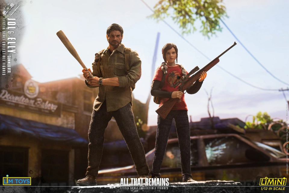 (LIMTOYS) LMN006 ALL THAT REMAINS Jol&Elly DUO PACK - Last of Us (Pre-Orders) - Deposit Only