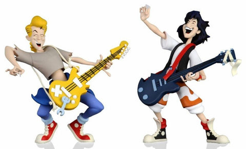 "(Neca) Bill and Ted's Excellent Adventure – 6"" Scale Action Figure – Toony Classics Bill and Ted 2-Pack (Pre-Order) - Deposit Only"