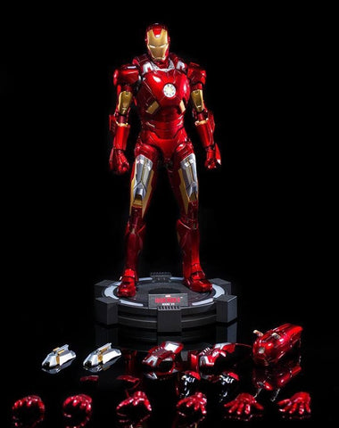 (King Arts) (Pre-Order) Iron Man Mark 7 VIP - 1/9 Scale Diecast Figure DFS013V - Deposit Only