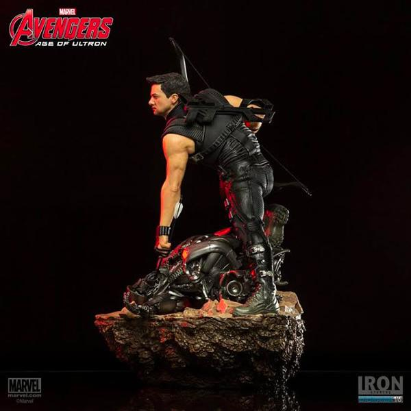 (Iron Studios) Age of Ultron Hawkeye1/6 Battle Diorama