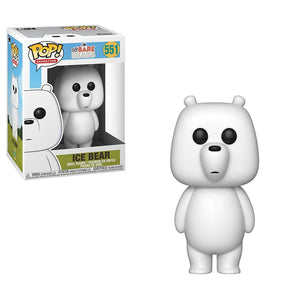 (Funko Pop) #551 WE BARE BEARS - ICE BEAR with Free Protector