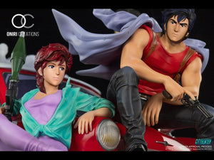 (Oniri Creations) (Pre-Order) 1/6 City Hunter 35th Anniversary Statue - Deposit Only