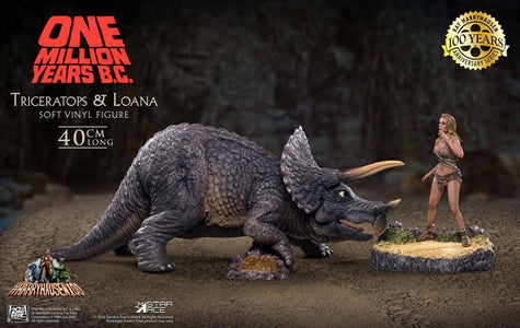 (Star Ace) (Pre-Order) SA9012 Triceratops & Loana - Deposit Only