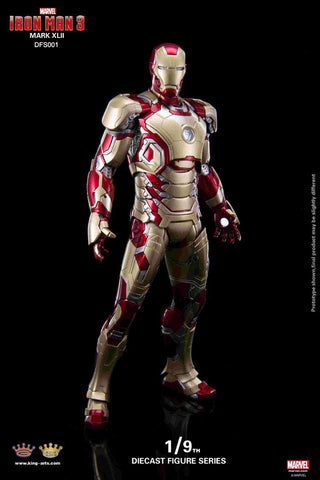 Image of (KING ARTS) 1/9 IRONMAN MARK 42 DFS001