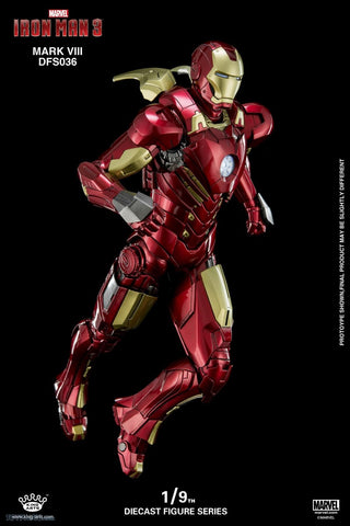 (King Arts) Iron Man Mark 8 - 1/9 Scale Diecast Figure DFS036