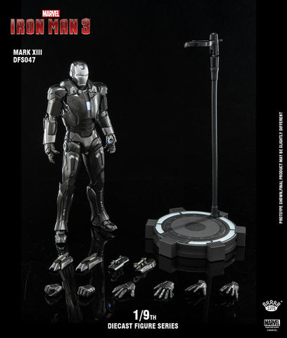 (King Arts) (Pre-Order) Iron Man Mark 13  - 1/9 Scale Diecast Figure DFS047 - Deposit Only