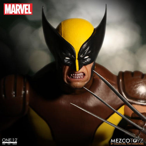 Image of (MEZCO) ONE:12 WOLVERINE BROWN