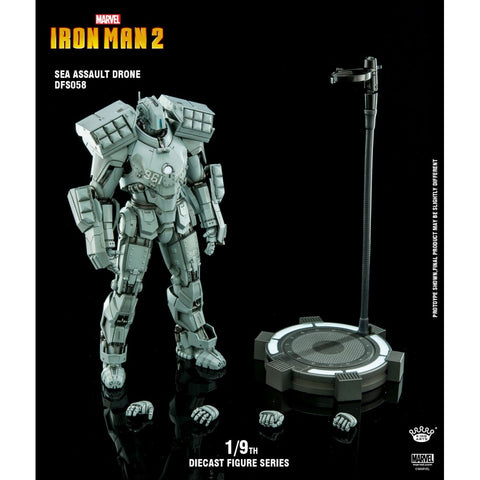 Image of (KING ARTS) 1/9 SEA ASSAULT DRONE IRONMAN