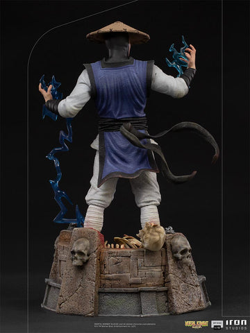 (Iron Studios) (Pre-Order) Raiden Art Scale 1/10 - Mortal Kombat - Deposit Only