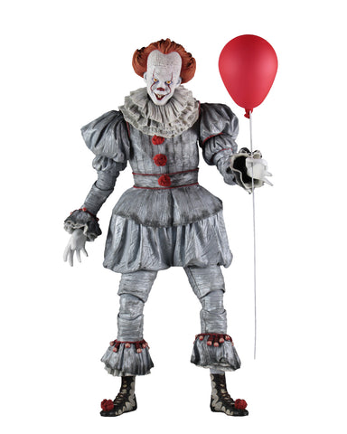 (Neca) (Pre-Order) IT (2017) – 1/4 (18-inches) Scale Action Figure – Pennywise (Bill Skarsgard) - Deposit Only