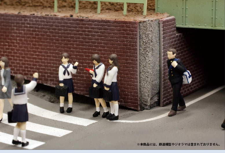 (Good Smile Company) 1/80th scale Super Mini Figure1 -The Sailor School Uniform Of That Day- (Pre-Order) - Deposit Only