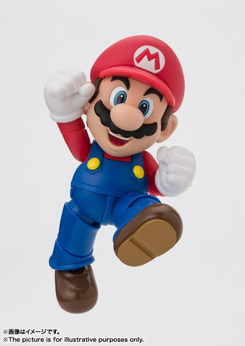 (BANDAI TAMASHII NATIONS) SHF SUPER MARIO REISSUE