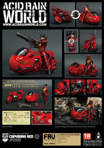(Toys Alliance) ACID RAIN 1/18 SCALE FAV-SP05 CAPYBARA RED JP 2020