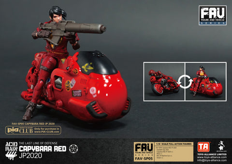 Image of (Toys Alliance) ACID RAIN 1/18 SCALE FAV-SP05 CAPYBARA RED JP 2020