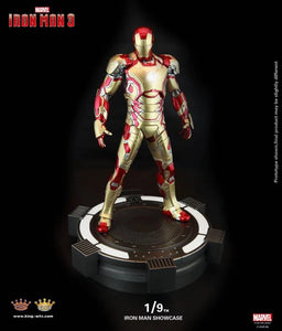 (KING ARTS) 1/9 IRON MAN SHOWCASE (BASE ONLY - FIGURE NOT INCLUDED)