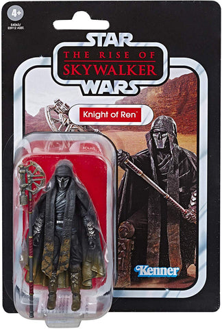 (Hasbro) Starwars Vintage Episode 9 Toys - Knight of Ren